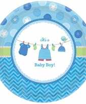 Goedkope geboorte jongen bordjes baby boy