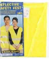 Goedkope geel veiligheidsvest volwassenen