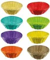 Goedkope gekleurd rieten mandje 10064651