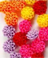 Goedkope gekleurde bloemen kralen stuks