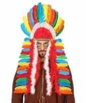 Goedkope gekleurde indianen tooi heren