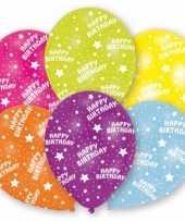 Goedkope gekleurde verjaardags ballonnen stuks