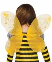 Goedkope gele vlinder vleugels kinderen