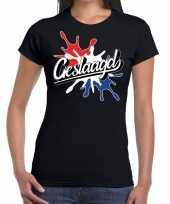 Goedkope geslaagd spetter cadeau t-shirt geslaagden zwart dames