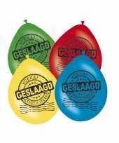 Goedkope geslaagd versiering ballonnen stuks 10122552