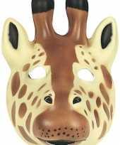 Goedkope giraffe masker soft foam