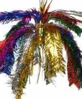 Goedkope glitter decoratie hanger multi color