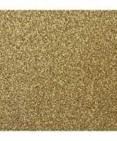 Goedkope goud glitter papier vel