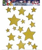 Goedkope gouden ster raamstickers stuks
