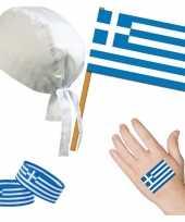 Goedkope griekenland grieks thema verkleed set volwassenen