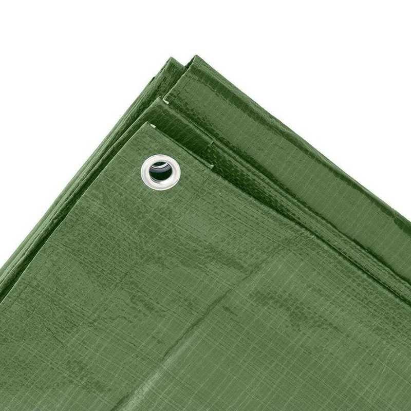 Goedkope groen afdekzeil dekzeil meter 10162794