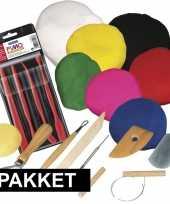 Goedkope groot kleien speelgoed pakket boetseerklei gereedschap