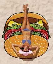 Goedkope grote hamburger badlaken