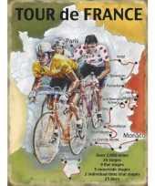Goedkope grote muurplaat tour france route xcm