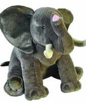 Goedkope grote pluche olifant knuffel