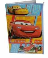 Goedkope grote verjaardagskaart cars