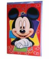 Goedkope grote verjaardagskaart mickey mouse