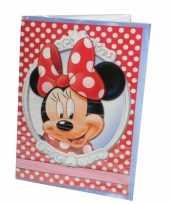 Goedkope grote verjaardagskaart minnie mouse