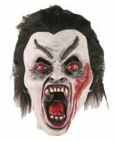 Goedkope halloween halloween dracula masker latex