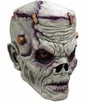 Goedkope halloween masker zombie frankenstein