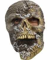 Goedkope halloween skelet masker wormen