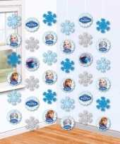 Goedkope hangdecoratie slingers frozen meter