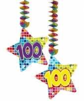 Goedkope hangdecoratie sterren jaar 10059074