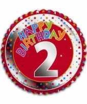 Goedkope happy birthday jaar folie ballon