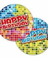 Goedkope happy birthday party bordjes stuks