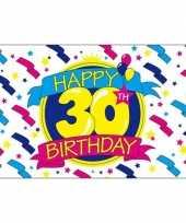 Goedkope happy birthday vlag jaar 10036530
