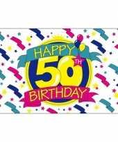 Goedkope happy birthday vlag jaar 10036532