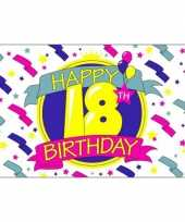 Goedkope happy birthday vlag jaar