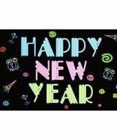Goedkope happy new year neon vlag