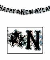Goedkope happy new year wenslijn goud