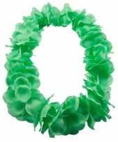Goedkope hawaii slinger neon groen