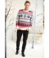 Goedkope heren kersttrui noorse goedkope