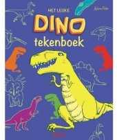 Goedkope het leuke dino dinosaurussen tekenboek kleurboek