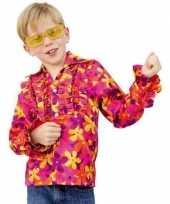 Goedkope hippie blouse rouches kinderen