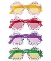 Goedkope hippie bril volwassenen