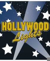 Goedkope hollywood thema servetten