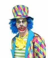 Goedkope horror clown gebitje volwassenen