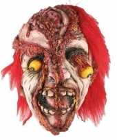 Goedkope horror gele ogen masker