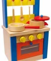 Goedkope houten speelkeuken