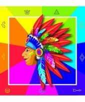 Goedkope indianen servetten xcm