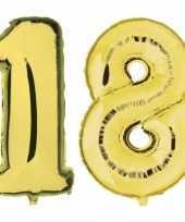 Goedkope jaar gouden folie ballonnen leeftijd cijfer 10159425