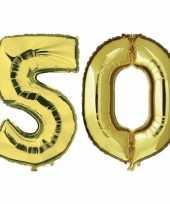 Goedkope jaar gouden folie ballonnen leeftijd cijfer 10159427