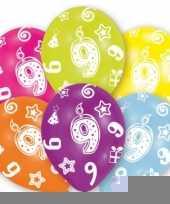 Goedkope jaar leeftijd ballonnen stuks 10079940