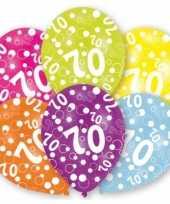 Goedkope jaar leeftijd ballonnen stuks 10079941