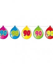 Goedkope jaar leeftijd versiering ballon slinger meter 10131764