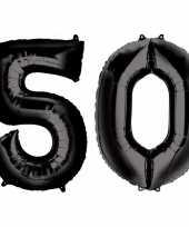 Goedkope jaar zwarte folie ballonnen leeftijd cijfer 10159354